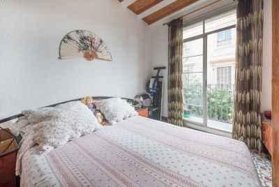 Светлая квартира с балконами в историческом центре Барселоны